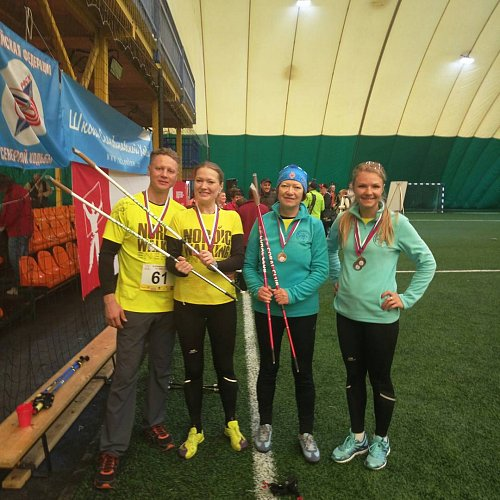 Kazakhstan national team for Nordic walking