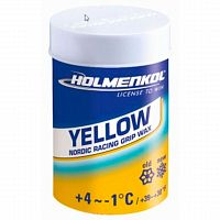 Holmenkol  мазь для лыж Grip Yellow +4*С/-1*С